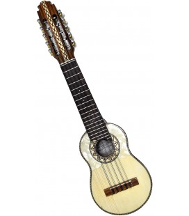 """Tatú"" Charango + Case of aguayo"